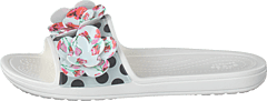 Sloane Timeless Roses Slide White