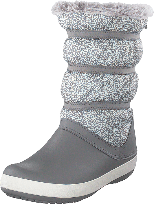 98ec91595cd1e Buy Crocs Crocband Winter Boot Women Dots smoke grey Shoes Online ...