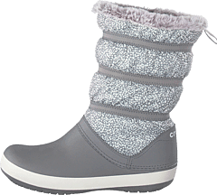 Crocband Winter Boot Women Dots/smoke