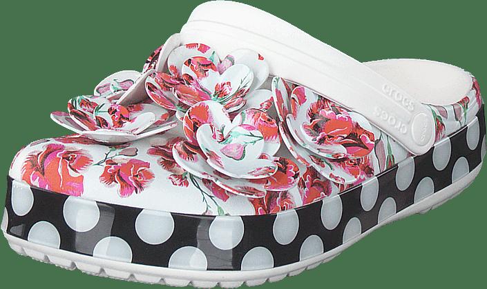 crocs Damen Classic Timeless Clash Roses Clog