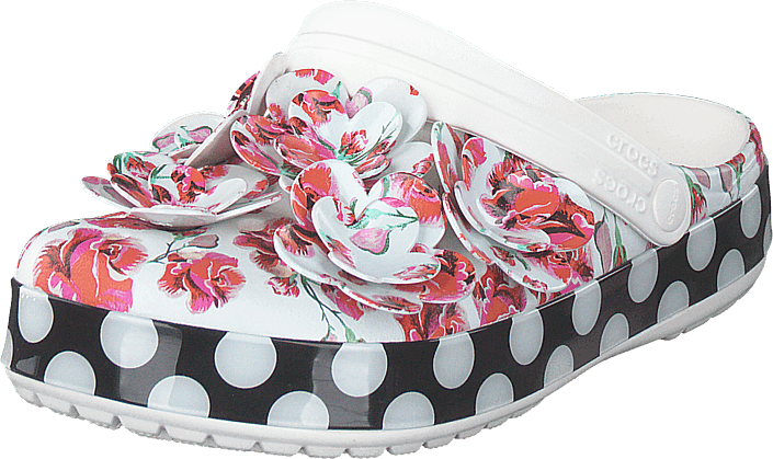 Crocs - Crocband Timeless Clash Roses Floral/dots