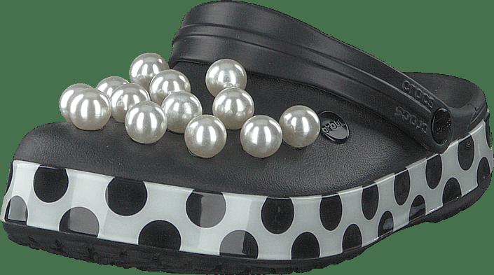 Crocs Crocband Timeless Clash Pearls svart dots gråa Skor Online