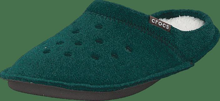 Classic Slipper Evergreen/stucco