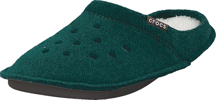 Crocs - Classic Slipper Evergreen/stucco