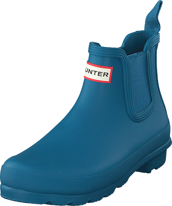 Hunter - Women's Original Chelsea Ocean Blue