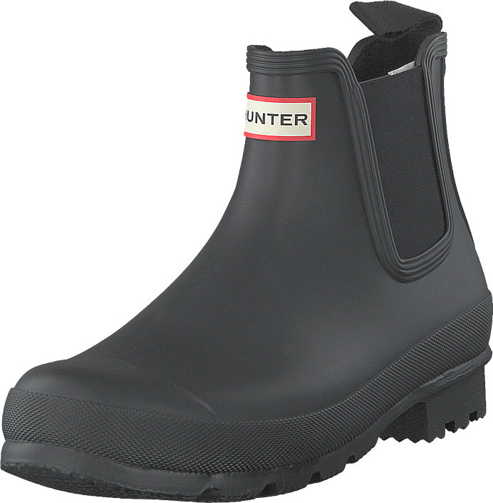 Hunter - Mens Original Chelsea Black