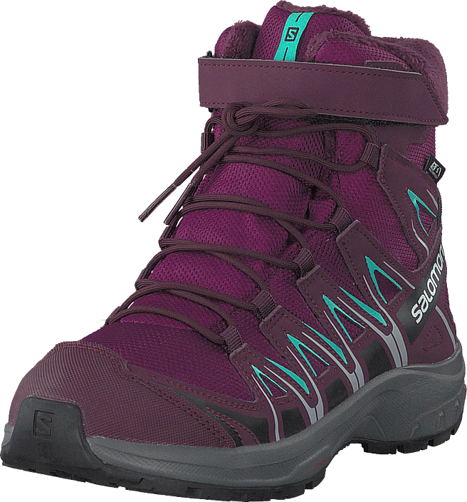 Salomon - Xa Pro 3d Winter Ts Cswp J Darkpurple/potentpurple/atlant