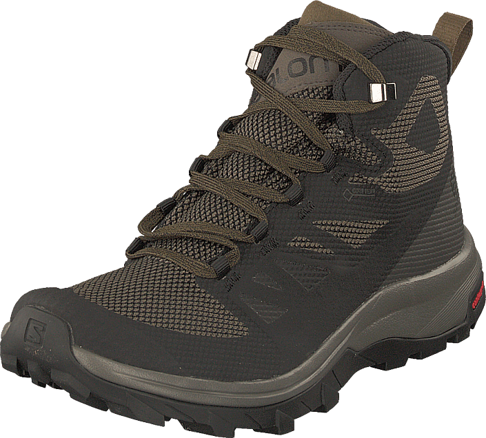 salomon outline mid gtx black beluga capers 15