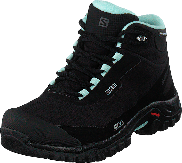 Salomon - Shelter Cs Wp W Black/black/eggshellblue