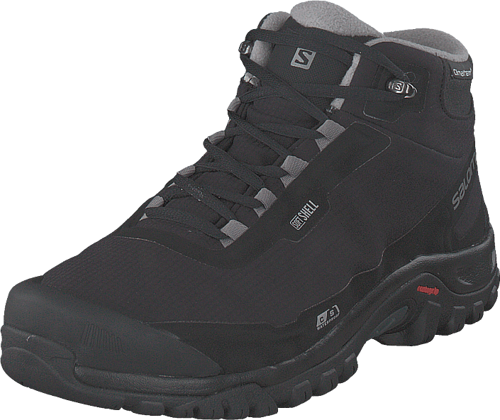 Salomon - Shelter Cs Wp Black/black/frostgray