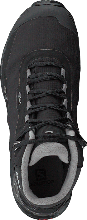 Salomon - Shelter Spikes Cs Wp Black/black/frostgray