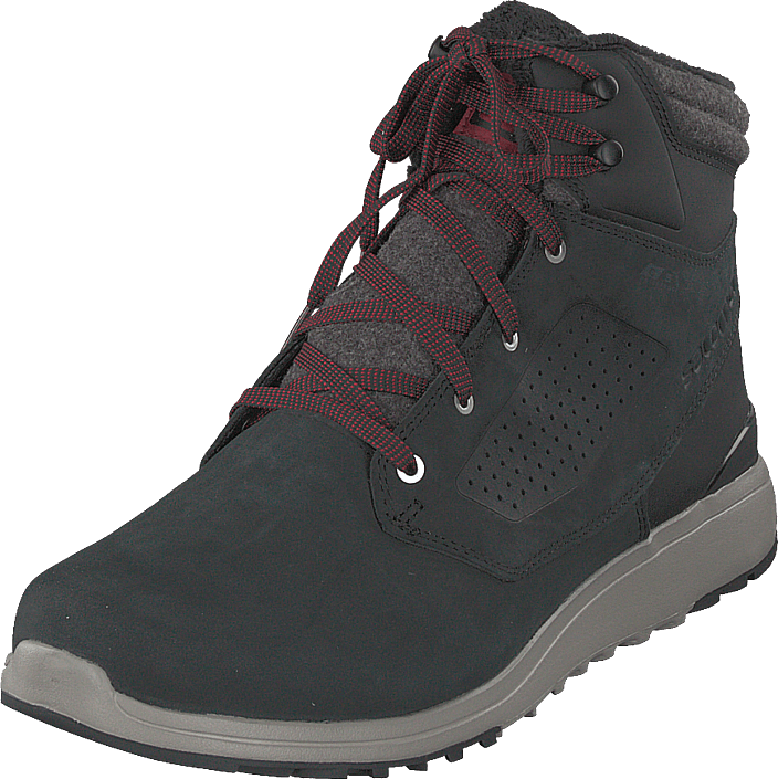 Salomon Utility Winter Cs Wp Blackblackreddahlia Schuhe cmgjd