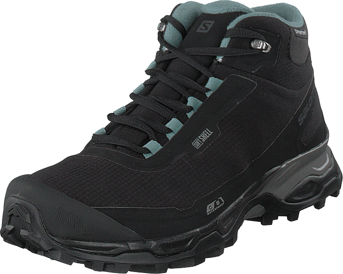 Salomon - Shelter Spikes Cs Wp W Black/black/trellis