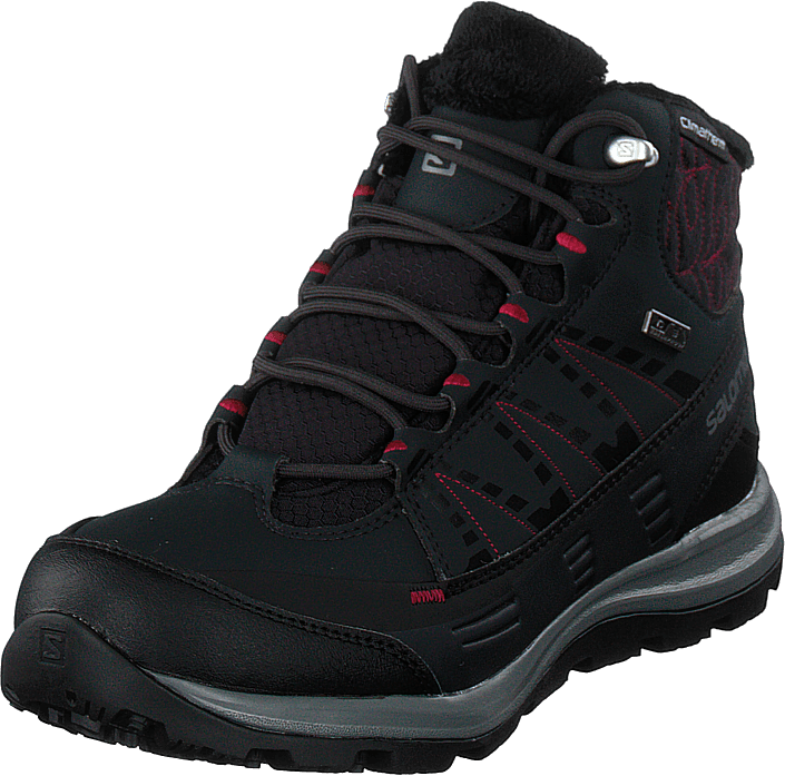Salomon - Kaïna Cs Wp 2 Phantom/black/beetred