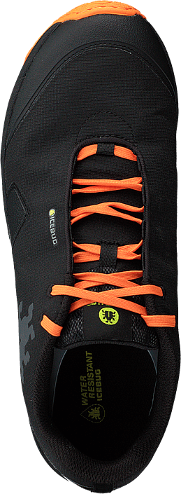 Pytho4 M Bugrip® Black/dkorange
