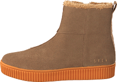 Anna High Suede Light Brown