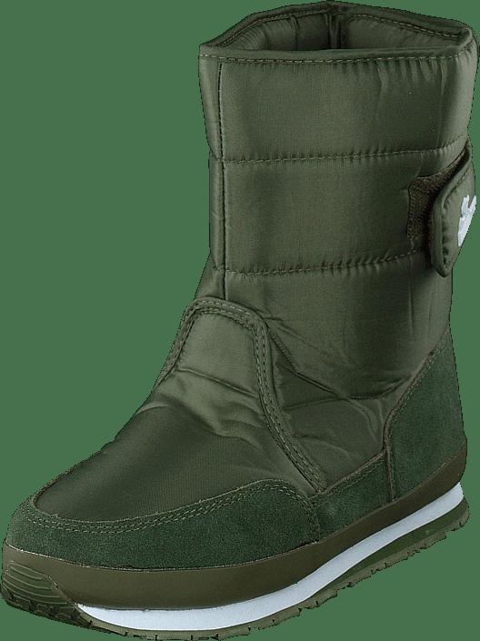Suede Solid Online Khaki Rd Sko Kjøp Nylon Duck Rubber grønne 1JuF3TKc5l