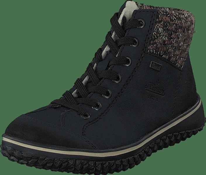 Rieker Sko Sneakers Kjøp Sorte Z4243 14 Og Online Sportsko Pazifik aPq00Xd6w