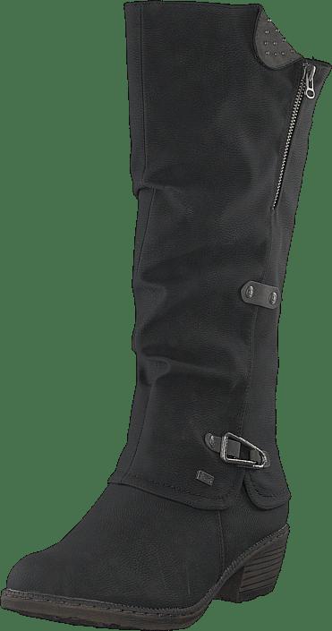 Rieker - 93752-00 Schwarz