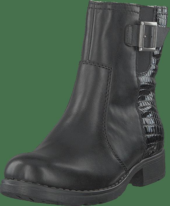 Rieker - 75463-01 Schwarz