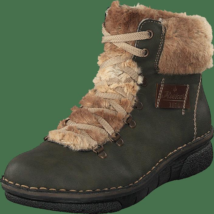 Rieker Online 54 Boots Forest 73343 Sko Brune Kjøp pHdwqBw