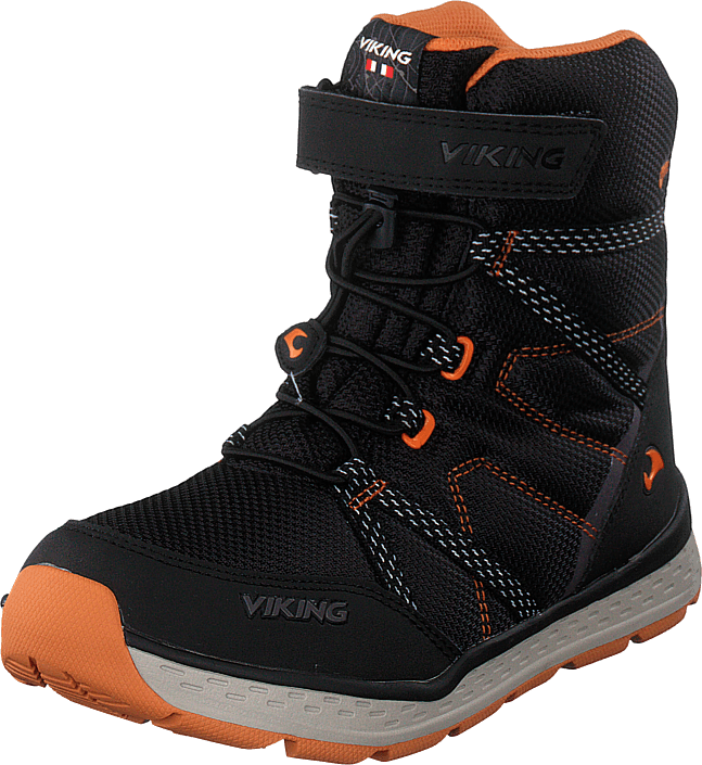 Viking - Skomo Gtx Jr Black/rust