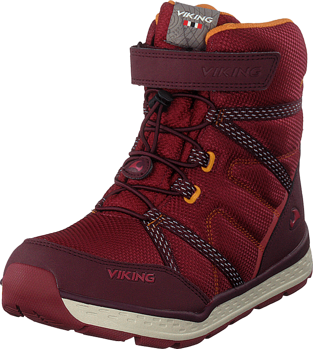 Viking - Skomo Gtx Jr Dark Red/wine