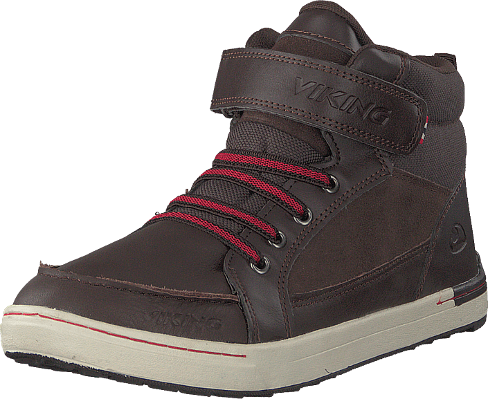 Viking - Moss Mid Dark Brown/red