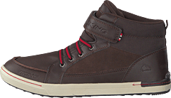 Moss Mid Dark Brown/red