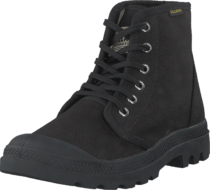 Palladium - Pampa Hi Originale Black