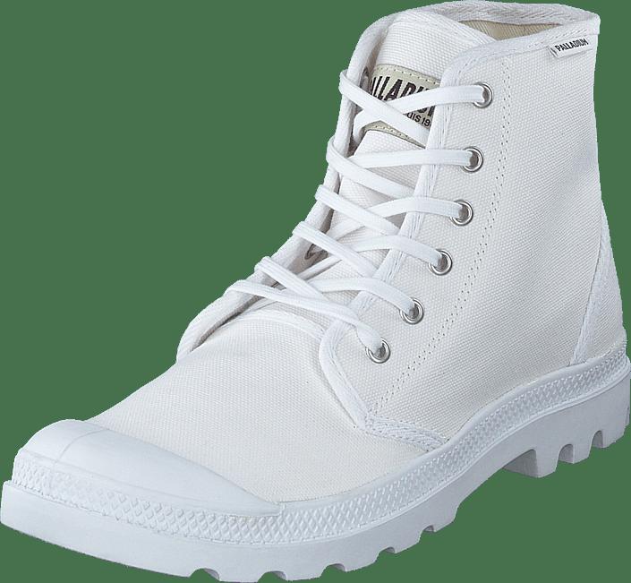 Palladium - Pampa Hi Originale White