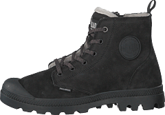 Pampa Hi Wool Zip Black