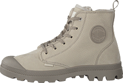 Pampa Hi Wool Zip Feather Grey