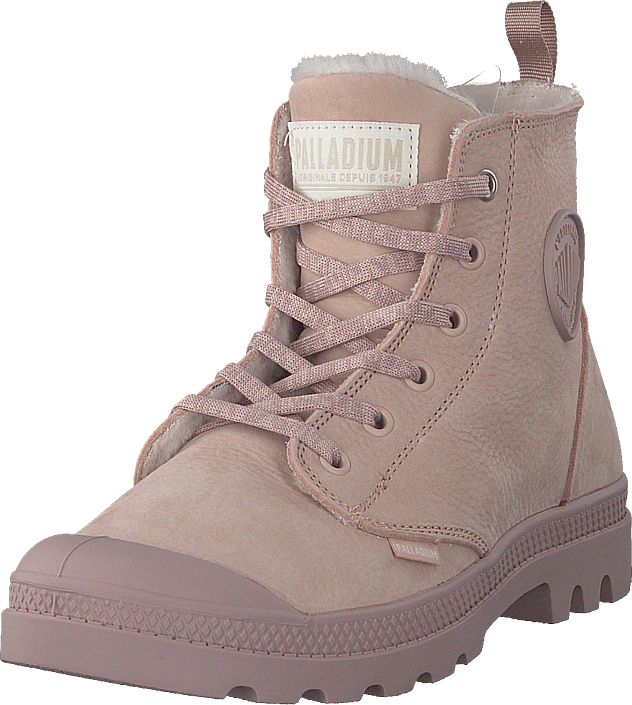 Palladium - Pampa Hi Wool Zip Rose Dust