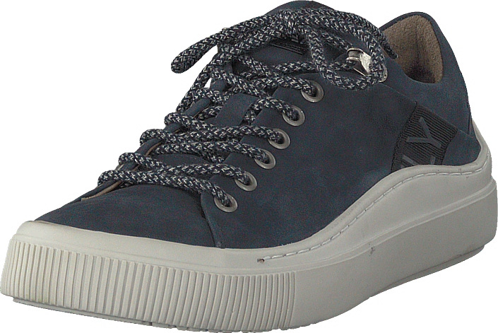 58c766cf4b79 Kjøp Fly London Some338fly Nubuck - Navy(off White) grå Sko Online ...