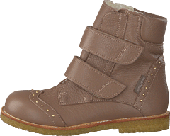 Tex-boot W. Velcro Straps Dusty Rose Brown