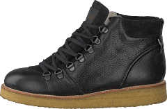 Tex-boot With Laces Black