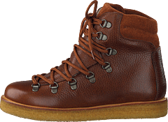 Boot With Laces And D-rings Medium Brown