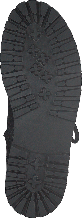 Angulus - Boot With Laces And D-rings Black