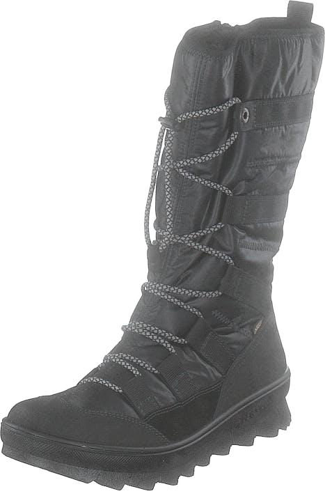Legero Novarra Gore-tex® Black, Skor, Stövlar & Stövletter, Varmfodrade höga stövlar, Svart, Dam, 37