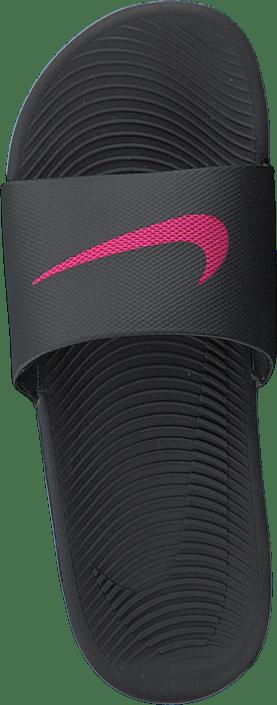 Nike - Women's Kawa Slide Sandal Black/vivid Pink