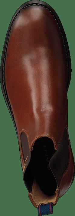 Kjøp Gant Oscar Chelsea Cognac Sko Online