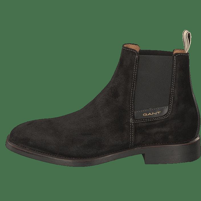 Chelsea James Sko Kjøp Sorte Boots Black Gant Online FP7Wqf