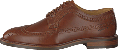 Ricardo Low Lace Shoes Cognac