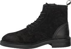 Martin Mid Lace Boot Black