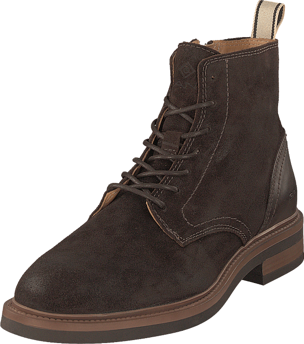 Gant - Martin Mid Lace Boot Dark Brown