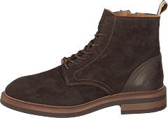 Martin Mid Lace Boot Dark Brown