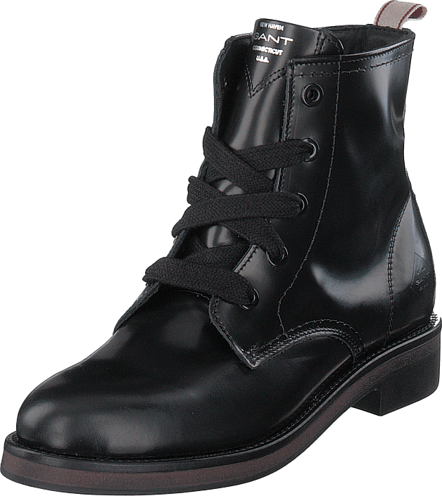 Gant - Malin Mid Lace Boot Black