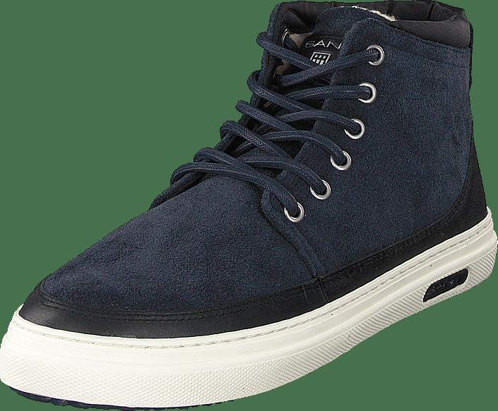 Gant Marvel Mid Lace Boot Marine blåa Skor Online