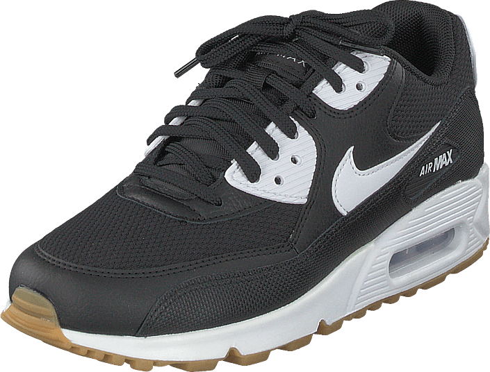 cheaper a0a7f 9b218 Nike - Wmns Air Max 90 Shoe Blk wht-gum Light Brown-wht